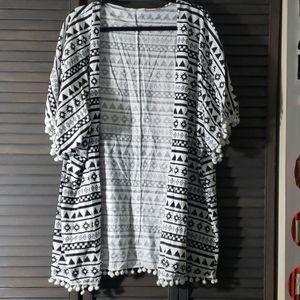 Sweaters - ATUN | Tribal Pom Pom Cardigan